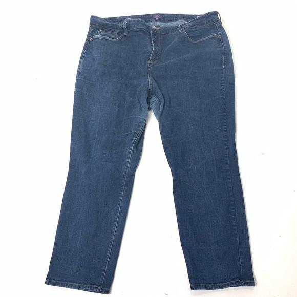 NYDJ Denim - Women's Size 22W NYDJ Ira Relaxed Ankle Jean